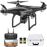 Potensic FPV Drohne mit 1080P HD Kamera, RC Quadrocopter, Dual GPS und Follow me Funktion, Live...