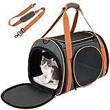 OKMEE Transporttasche Katze, Hund Transporttasche, Faltbare Hundetragetasche Katzentragetasche,...