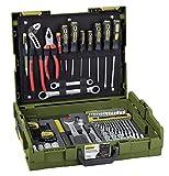 PROXXON Handwerker-Universal-Werkzeugkoffer, L-BOXX-System L 102, 69-teiliges Werkzeug-Set, Mit...