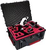 Professioneller Transportkoffer passend für DJI Inspire (Pro) X5 mit montierter Kamera und...