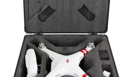 Aluminium Koffer für DJI Phantom 3 und AEE Turok AP10