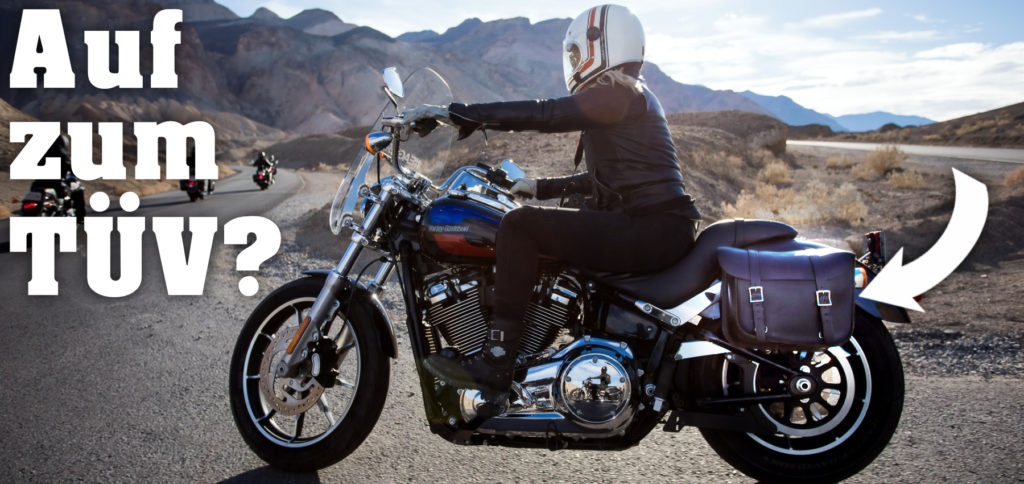 Müssen Motorrad-Seitenkoffer vom TÜV abgenommen werden? Muss man den Gepäck-Container am Bike eintragen lassen? Hier alle Antworten zum Thema.
